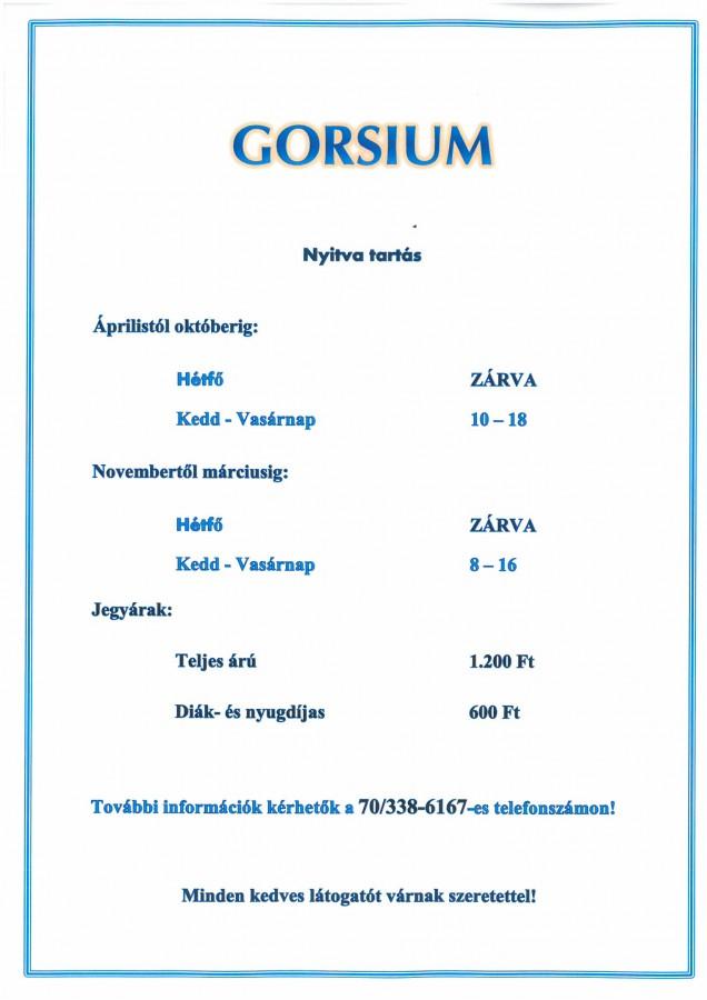 GORSIUM