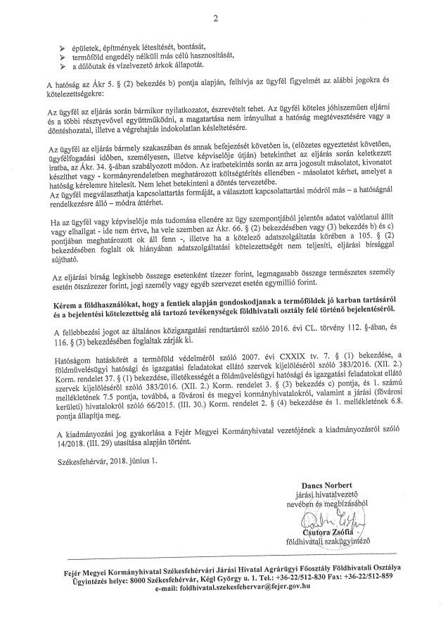 2018. évi határszemle 2. oldal